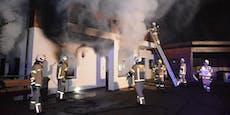 Bewohner (28, 23) und Hund aus Flammen-Haus gerettet