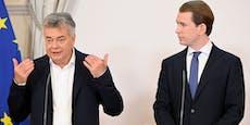 """""""Eindruck verheerend"""":Kickt Kogler Kurz aus Regierung?"""