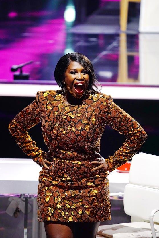 """""""Supertalent""""-Jurorin Motsi Mabuse lässt ihren Emotionen freien Lauf."""