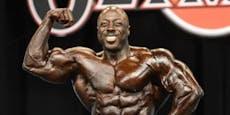 Bodybuilding-Star (37) tot in Hotelzimmer gefunden