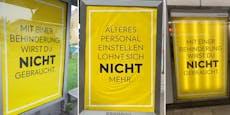 """""""Mit Behinderung nicht gebraucht"""" – Eklat um Plakate"""