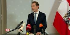 Kurz-Ansage: Er will weiter Kanzler bleiben