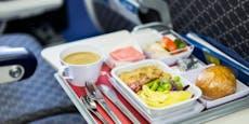 Warum Piloten nicht das gleiche Menü im Flugzeug essen