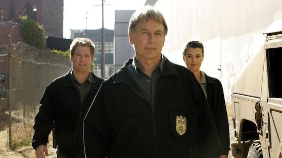 """Jahrelang für den """"Navy CIS"""" im TV-Einsatz - bald wieder?Michael Weatherly als Special Agent Anthony DiNozzo, Mark Harmon als Special Agent Jethro Gibbs, und Cote de Pablo als Ziva David."""
