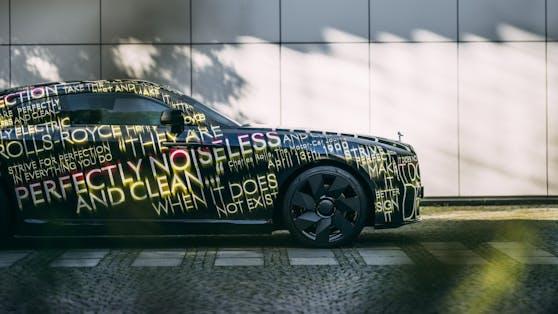 Das erste E-Auto von Rolls-Royce wird Spectre heißen und 2023 auf den Markt kommen.