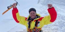 Bergsteiger ohne Beine besteigt Achttausender