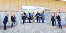 Neues LASK-Stadion feiert Spatenstich mit Freibier
