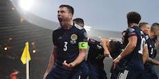 Schottland jubelt spät, rückt ÖFB-Ziel in weite Ferne
