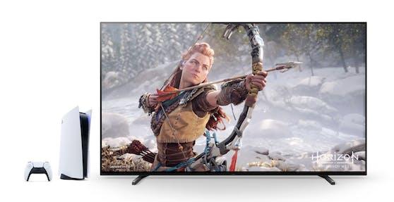 """Sony macht die BRAVIA XR Fernseher """"Perfekt für PlayStation 5""""."""
