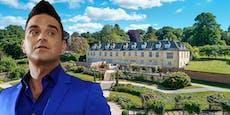 """Robbie Williams zieht aus: """"Das Haus gruselt mich"""""""
