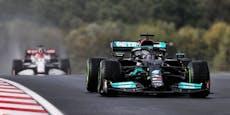 Hamilton fährt auf Pole, aber Bottas startet als Erster