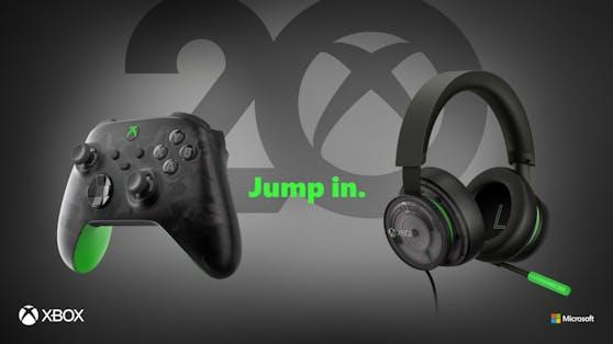 Neue Hardware zum 20-jährigen Jubiläum von Xbox.