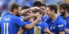 Nations League: Italien holt Platz drei gegen Belgien