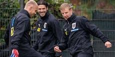 ÖFB-Update: Zwei Spieler sollen für Dänemark fit werden