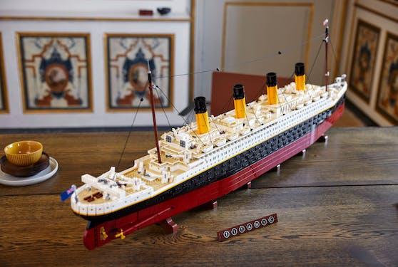 Das LEGO Titanic Set ist eines der größten und längsten Modelle bisher.