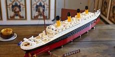 LEGO bringt die Titanic als 1,30 Meter langes Modell