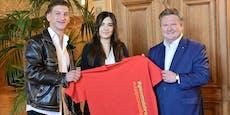 #gemmalehre: Wiens Stadtchef traf auf TikTok-Influencer