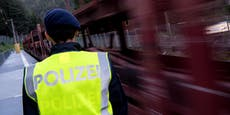Illegale in Güterzug – 8 Männer an Grenze aufgeflogen