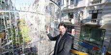 Erste Weihnachtsbeleuchtung strahlt schon in Wien