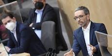 Kickl kündigt Misstrauensantrag gegen Regierung an