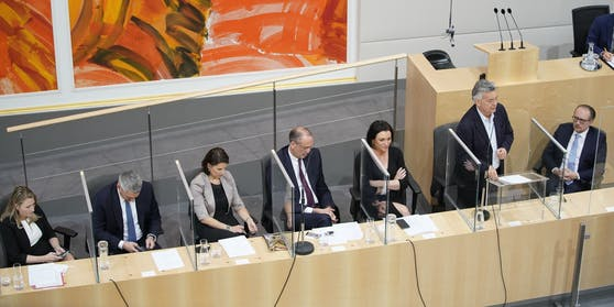 Am Dienstag fand die erste Nationalratssitzung mit Kanzler Schallenberg statt.