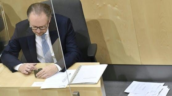 Bundeskanzler Alexander Schallenberg