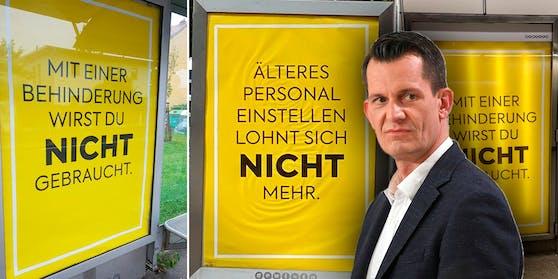 Öffi-Fahrgäste ärgerten sich derart über diese Plakate, dass sich nun auch der Gesundheitsminister dazu äußern muss.