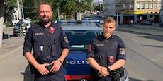 Zwei Polizisten retten Ehepaar bei Brand das Leben