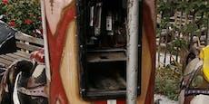 Dreiste Diebe räumten Kittenberger Erlebnisgärten aus