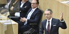 Misstrauensantrag der FPÖ gegen Regierung abgelehnt