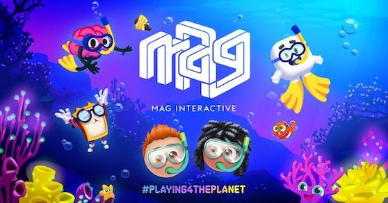 MAG Interactive arbeitet mit der UN-Initiative Playing For The Planet zusammen.