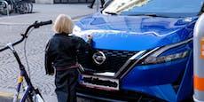 Autokritzelei in Wien entpuppt sich nun als Werbeaktion