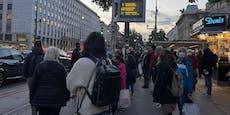 Anti-Kurz-Demo sorgt für Stau-Chaos in Wiener City