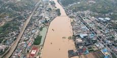 Schwere Überschwemmungen in China fordern Todesopfer