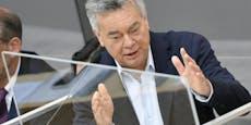 """Ned nix"" – Kogler mahnt ÖVP, hat ""Respekt"" für Kurz"