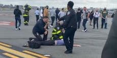 Bombenalarm – alte Kamera sorgt für Notlandung in NY