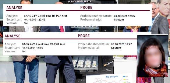 Beim Gratis-Testangebot in Niederösterreich läuft laut einer Tullnerin einiges schief.