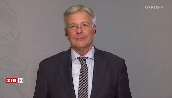 Kärntens Landeschef Peter Kaiser (SPÖ) in der ZIB2