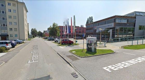 Der Unfall ereignete sich beim Innovationszentrum Weiz.