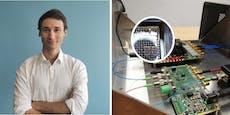 Österreicher schrumpft Quantentechnik auf Chip-Größe
