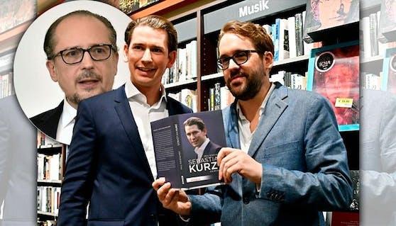 """Sein erstes Interview gibt Schallenberg Kurz-Kenner Paul Ronzheimer (""""Bild"""")"""