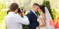 Wut-Fotograf löscht vor Bräutigam alle Hochzeitsfotos