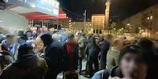 Wiener Polizei sprengt Alkohol-Flashmob in Floridsdorf
