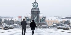 Wetter-Experte sagt, ob der Schnee bis nach Wien kommt
