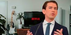 """Wiener rätseln über Kurz – """"Schaut gerade Netflix"""""""