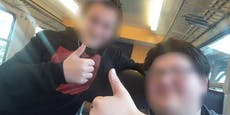 Teenies stiften Unruhe im Zug, fliegen in Pampa raus