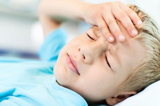 """""""Aua!"""" - Kopfschmerzen sind auch bei Kindern ein Thema."""