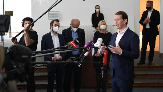 Sebastian Kurz im Ibiza-U-Ausschuss