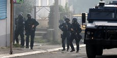 """""""Gegen Schmuggel"""": Kosovo-Polizisten schießen auf Serben"""