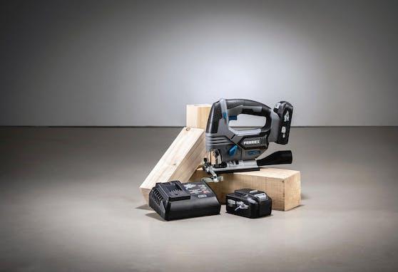 Hofer erweitert Angebot der Akku-Geräteserie seiner Eigenmarke Ferrex.